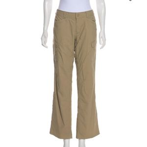 North Face Hiking Wide Leg Pants Tan Size 6